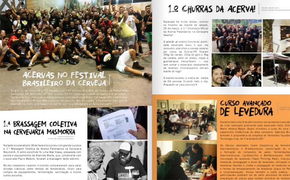 1.º Boletim Informativo da Acerva Paranaense!