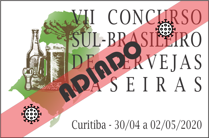 COMUNICADO CONCURSO SUL-BRASILEIRO DE CERVEJA CASEIRA